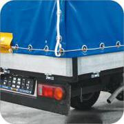 - тенты на грузовые автомобили